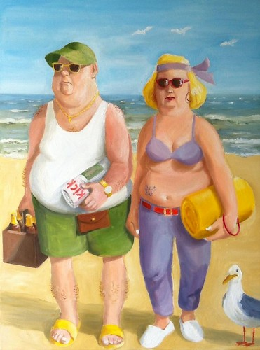 Fun in the Sun 60X80